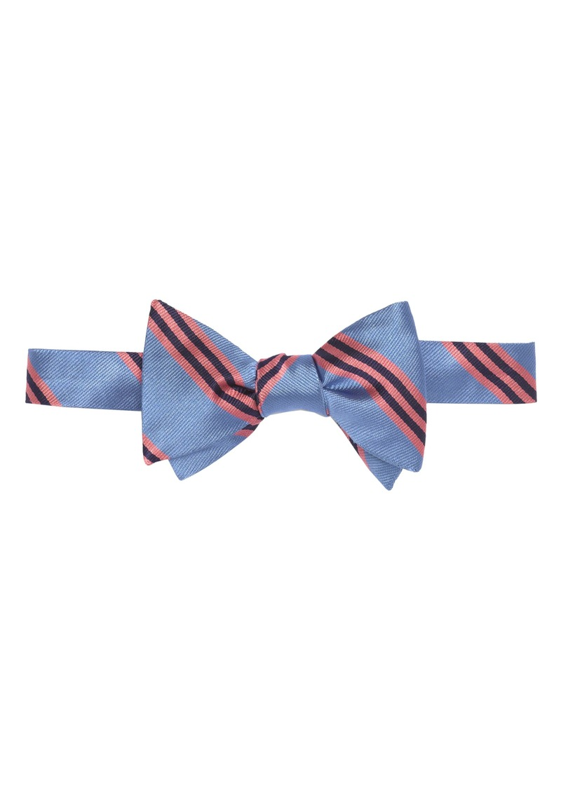 Brooks Brothers Silk Stripe Bow Tie