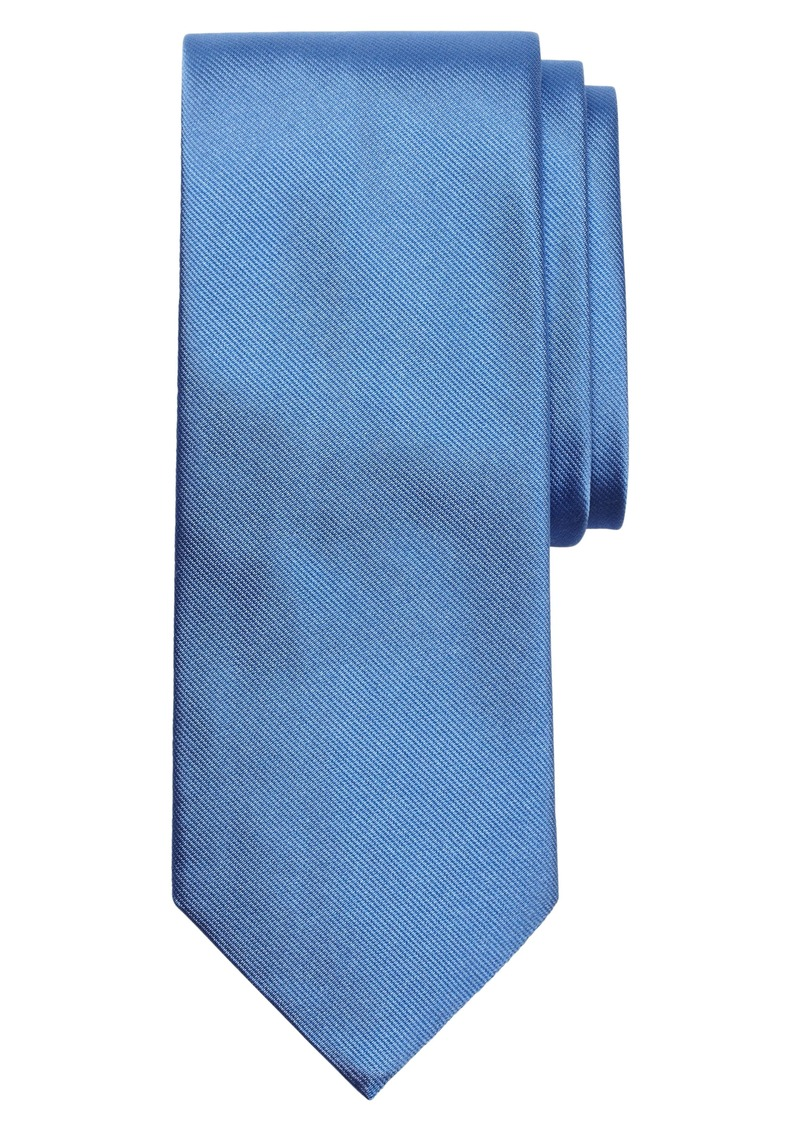 Brooks Brothers Solid Silk Tie