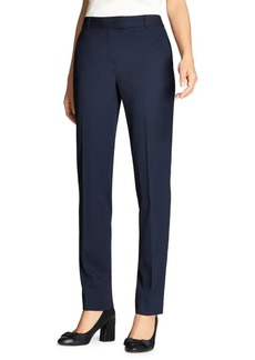 Brooks Brothers Stretch Tapered-Leg Pants
