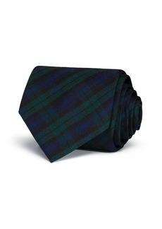 Brooks Brothers Tartan Plaid Classic Tie
