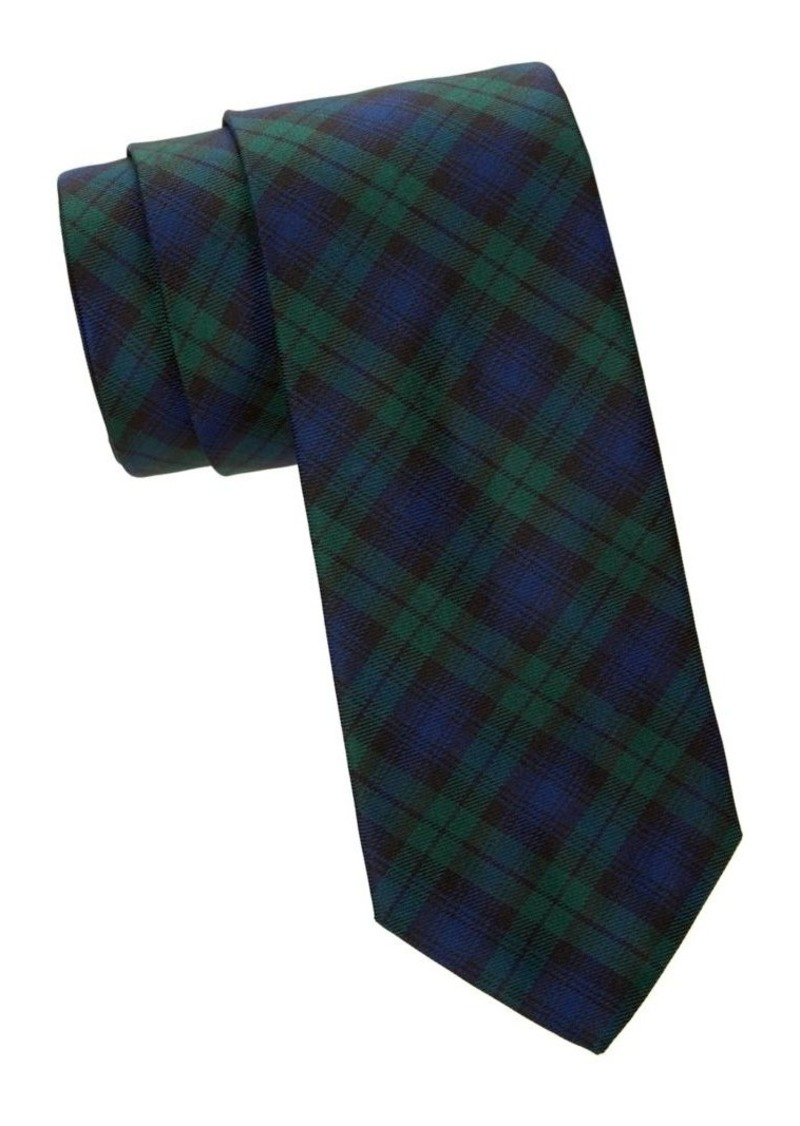 Brooks Brothers Tartan Plaid Silk Tie