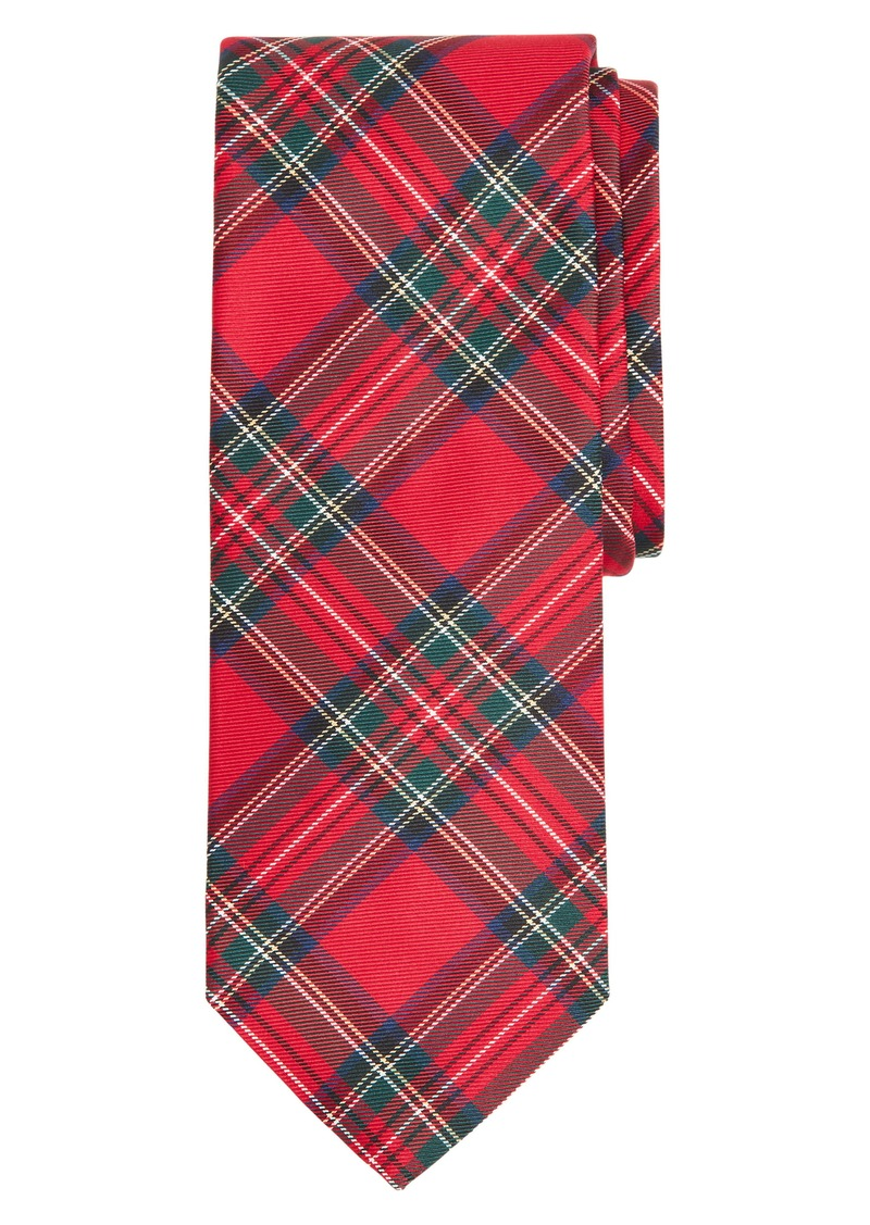 Brooks Brothers Tartan Silk Tie
