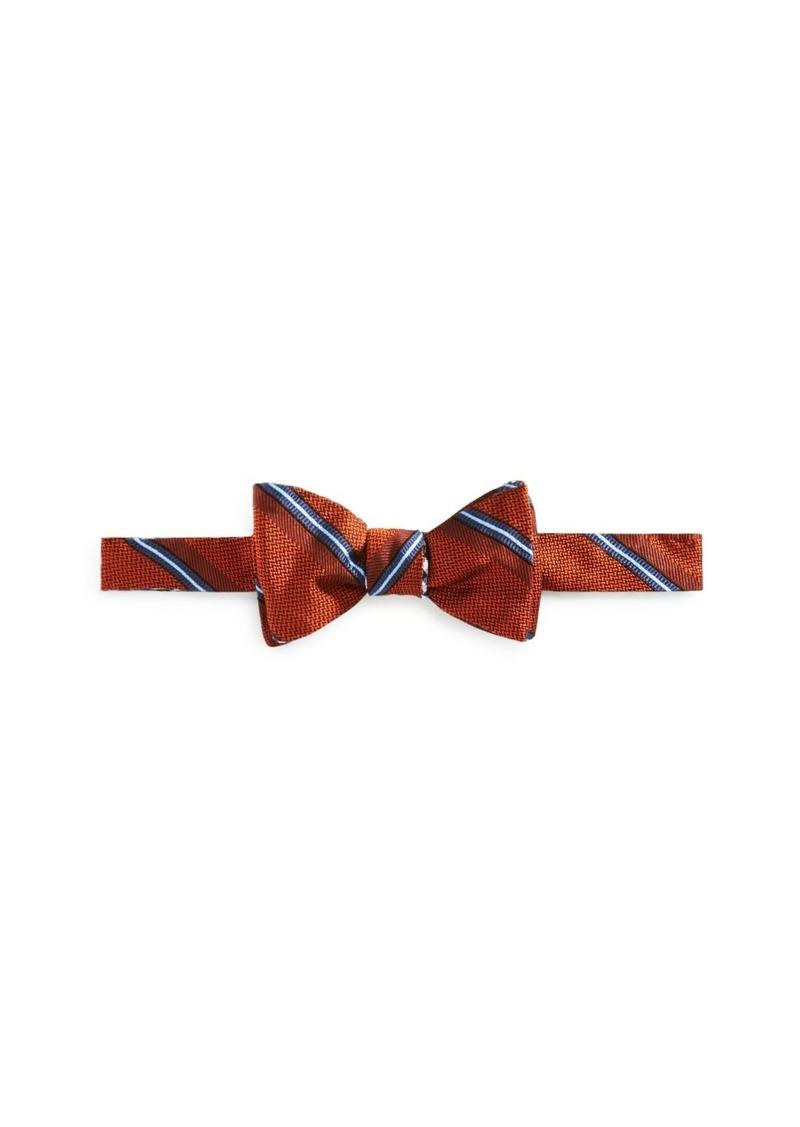 Brooks Brothers Textured Stripe Bow Tie