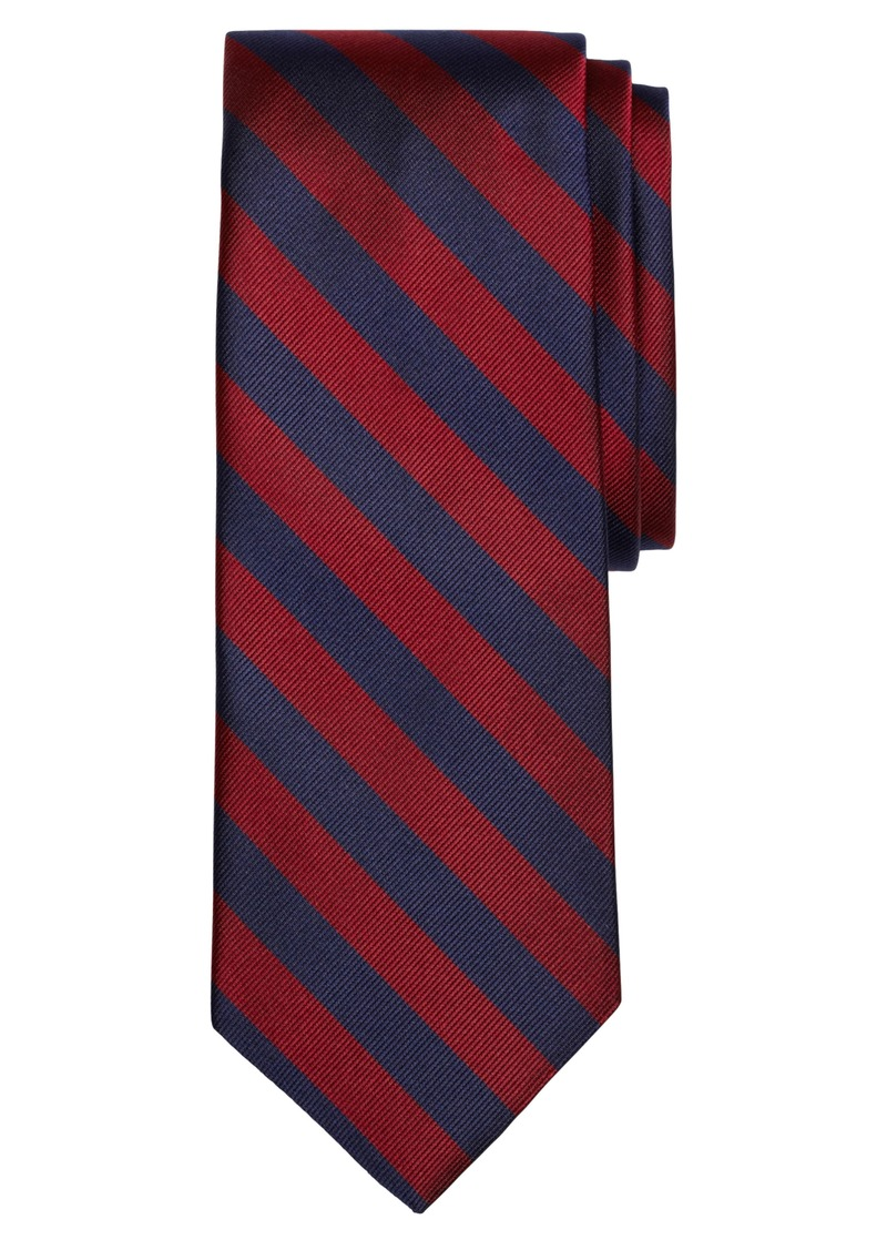 Brooks Brothers Thick Stripe Silk Tie