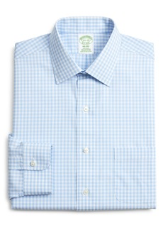 Brooks Brothers Milano Slim Fit Check Dress Shirt