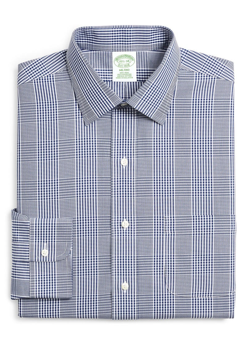 Brooks Brothers Trim Fit Plaid Dress Shirt (Any 3 for $207)