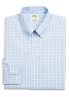 Brooks Brothers Milano Slim Fit Stretch Check Dress Shirt