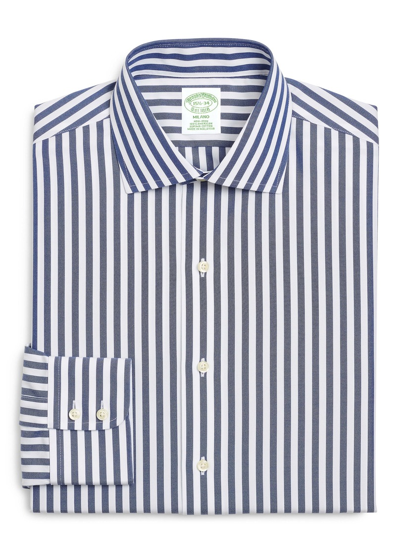 Brooks Brothers Trim Fit Stripe Dress Shirt (Any 3 for $207)