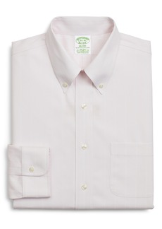Brooks Brothers Milano Slim Fit Stripe Dress Shirt