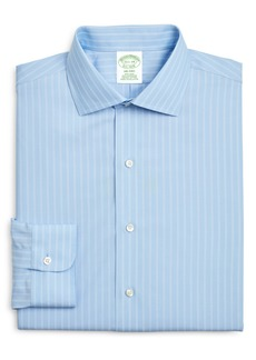 Brooks Brothers Milano Slim Fit Stripe Dress Shirt (3 for $207)