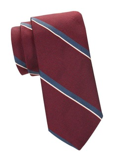 Brooks Brothers Wide-Striped Silk Tie
