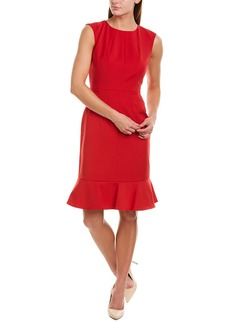 Brooks Brothers Wool-Blend Sheath Dress