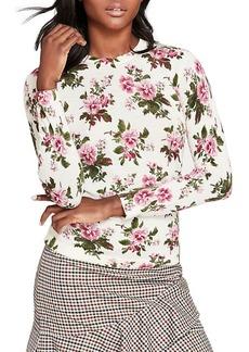 Brooks Brothers Wool Printed Crewneck Sweater