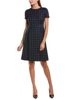 Brooks Brothers Wool Shift Dress