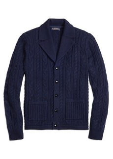 Brooks Brothers Cable Cardigan