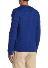 Brooks Brothers Cable Knit Pullover Sweater