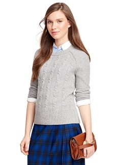 Brooks Brothers Cashmere Cable Sweater