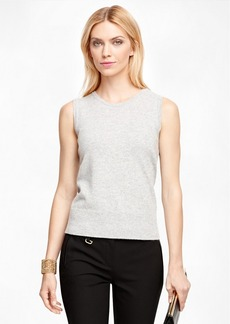 Brooks Brothers Cashmere Sleeveless Shell