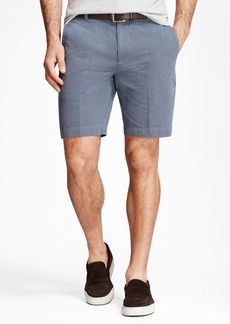 Brooks Brothers Chambray Gingham Shorts