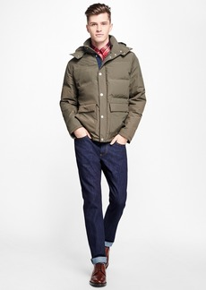 Brooks Brothers Channel Quilted Down Jacket