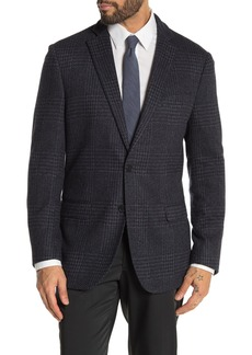 Brooks Brothers Charcoal Houndstooth Print Two Button Notch Lapel Regent Fit Suit Separates Jacket