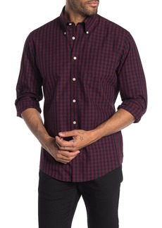 Brooks Brothers Check Print Regent Fit Shirt