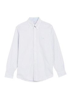 Brooks Brothers Check Print Oxford Stretch Regular Fit Shirt