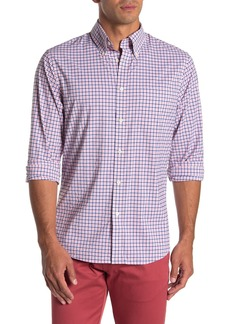 Brooks Brothers Checked Performance Slim Fit Shirt