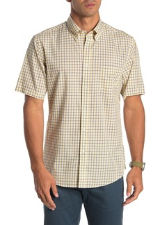 Brooks Brothers Checked Short Sleeve Regular Fit Shirt