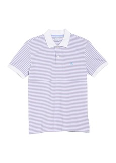 Brooks Brothers Contrast Stripe Pique Polo