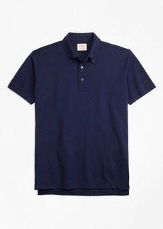Brooks Brothers Cotton Jacquard Polo Shirt