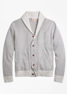 Brooks Brothers Cotton Shawl-Collar Cardigan