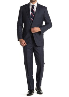 Brooks Brothers Dark Gray Plaid Madison Fit Two-Button Suit