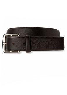Brooks Brothers Deerskin Leather Belt