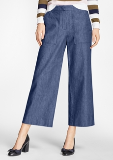 Brooks Brothers Denim Culottes