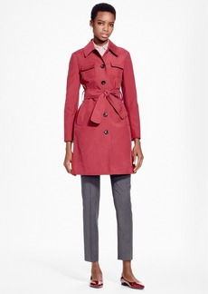 Brooks Brothers Double-Face Water-Repellant Coat