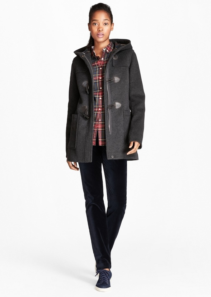 0068124a936b4 Brooks Brothers Double-Faced Wool-Blend Duffle Coat | Outerwear
