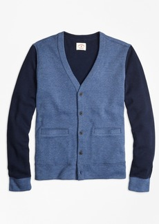 Brooks Brothers Double-Knit Cotton Cardigan