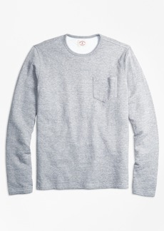 Brooks Brothers Double-Knit Pique Long-Sleeve T-Shirt