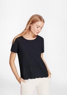 Brooks Brothers Eyelet T-Shirt