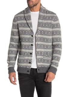 Brooks Brothers Fairisle Wool Blend Cardigan