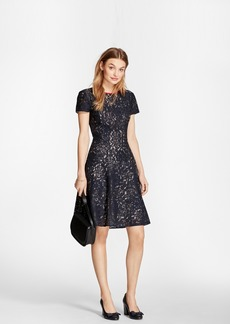 Brooks Brothers Floral Lace Dress