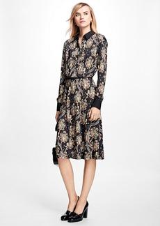 Brooks Brothers Floral Shirt Dress