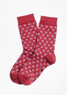 Brooks Brothers Foulard Socks