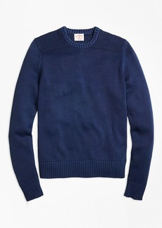 Brooks Brothers Garment-Dyed Crewneck Sweater