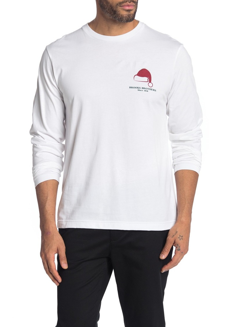 Brooks Brothers GF Holiday Long Sleeve T-Shirt