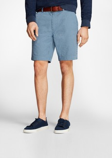 Brooks Brothers Gingham Cotton Seersucker Shorts