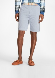 Brooks Brothers Gingham Seersucker Bermuda Shorts