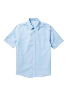 Brooks Brothers Gingham Short Sleeve Regent Fit Shirt