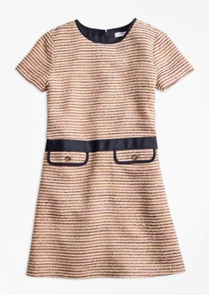 Brooks Brothers Girls Boucle Dress